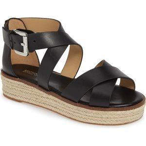 New Michael Michael kors Darby sandal black 5.5